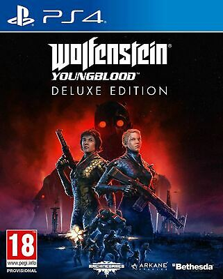 Wolfenstein Youngblood Deluxe Edition PS4 PLAYSTATION 4 Spiel Neu Ovp Offiziell