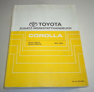 Workshop Manual Toyota Corolla E12 Supplement Stand 05/2004