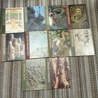 GREAT AGES OF MAN Time Life lot of 10 hardback