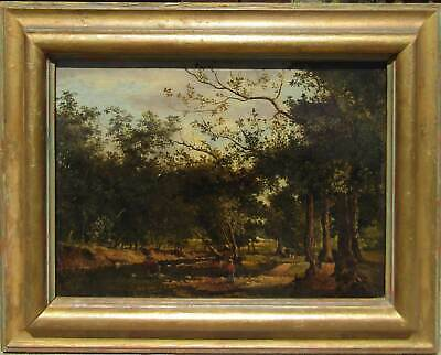 George Inness (1825-1894) Old Antique Impressionist Landscape Oil Painting NR