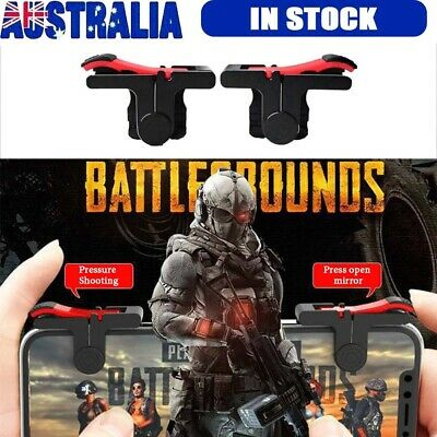 Gaming Trigger L1 R1 Mobile Phone Aiming Fire Button Shooter Controller For PUBG