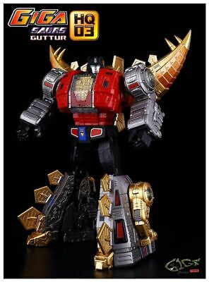 New Transformers TOY Giga power GP HQ-03R Alloy Plating Gutter G1 Snarl In Stock