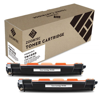 ZOOMTEC Compatible TN1050 Toner Cartridge Use with Brother HL-1110 DCP-1510 2
