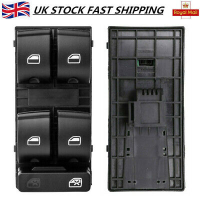 Electric Window Master Control Switch Driver Side Fits Audi A4 B6 B7 Seat Exeo