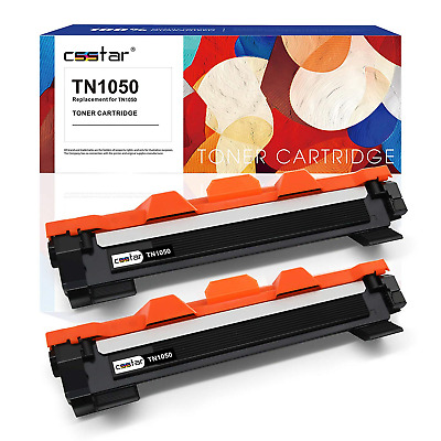 CSSTAR Compatible Toner Cartridges Replacmenet for Brother TN1050 TN-1050 Use in