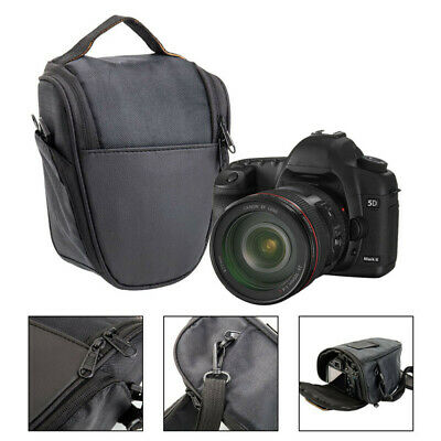 Black Triangle Camera Bag Waterproof Shoulder Case For Canon Sony Nikon DSLR EOS