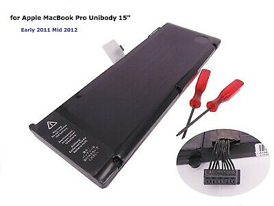 "Laptop Battery for Apple MacBook Pro Unibody 15"" A1382 A1286 Early 2011 Mid 2012"