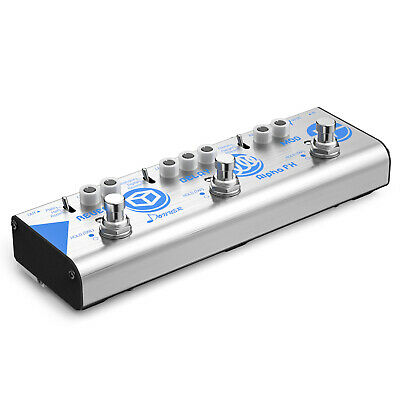 Donner Guitar Effect Pedal Chain Alpha FX Modulation Delay and Reverb effects