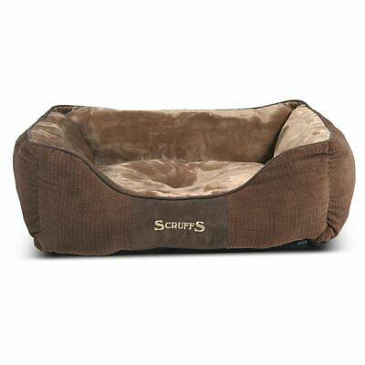 Scruffs & Tramps Lit couchage pour animaux Chester Taille M 60x50cm Marron 1165