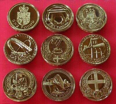 £1 One Pound Brilliant Uncirculated British Coin Choice Of Year 1983 To 2011