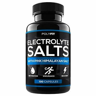 Electrolyte Salt Tablets Electrolytes Replacement Supplement for Rapid Hydration