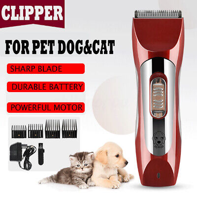 Professional Pet Dog Cat Animal Clippers Hair Grooming Trimmer Shaver Recharge