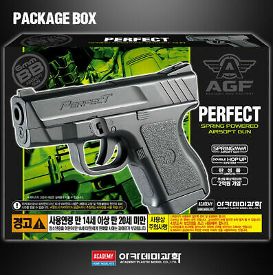 [Academy] 17231 Perfect Handgun Pistol Airsoft BB Shot Gun Military Kit
