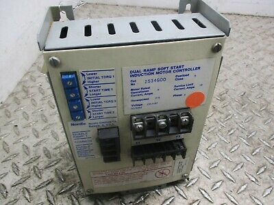 Nordic Dual Ramp Soft Start  Induction Motor Controller 2534G00