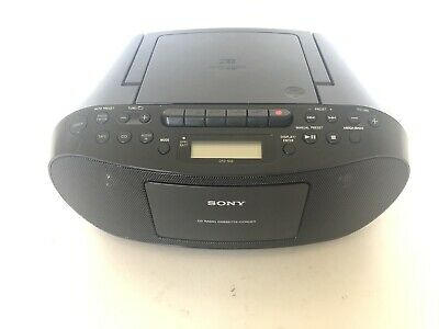 Sony CFD-S50 Cd player boombox Cassette recorder AM FM radio tested working