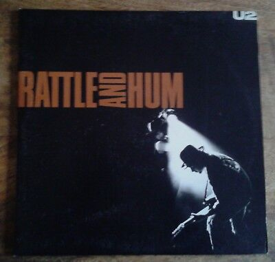 U2 U2 Rattle And Hum Vinyl Album LP