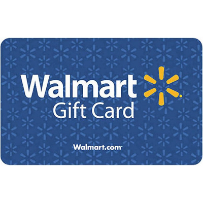 $50 Walmart Gift Card No Fees No Expiration Date