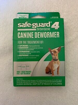 8in1 Safe-Guard Canine Dewormer for Dogs, 3-Day Treatment Small FREE SHIPPING