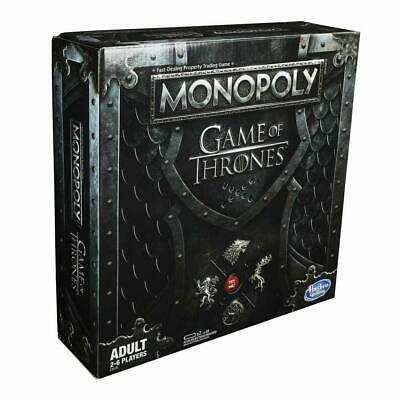 Monopoly Game Of Thrones Edition Board Game by Hasbro Age 18+ NEW!!!