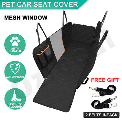 Premium Pet Car Seat Cover Hammock NonSlip Protector Mat Waterproof Cat Dog Back