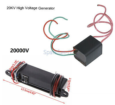 DC 12V to 20000V 3.6 to 20KV High-Voltage Generator Boost Step-up Power Module F