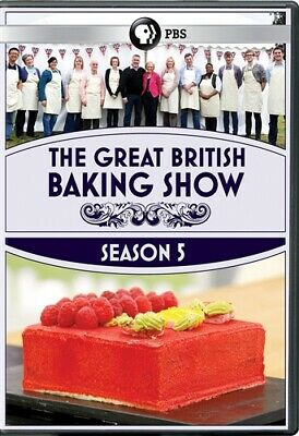 THE GREAT BRITISH BAKING SHOW TV SERIES COMPLETE SEASON 5 New Sealed 3 DVD Set