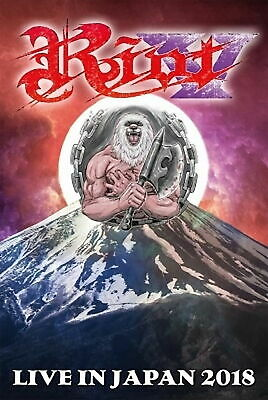 Riot-Live in Giappone 2018-JAPAN Blu-Ray N44
