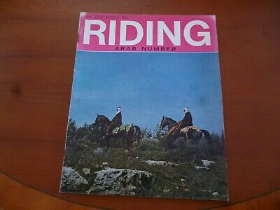 Riding Journal May 1974 Arab Number Horse Crabbet British Arab *As Pictures*