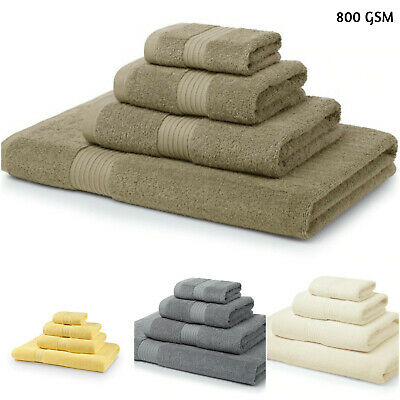 Luxury 100% Egyptian Cotton Super Soft 800 GSM Bath Sheets Absorbent