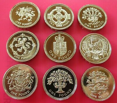 £1 One Pound Proof British Coin Choice Of Year 1984 To 2011