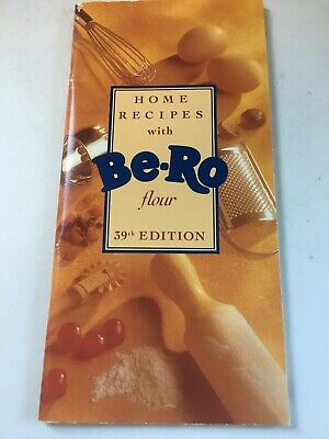 HOME RECIPE WITH BERO FLOUR RECIPE BOOK 39th EDITION IMMACULATE CONDITION