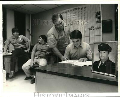 1989 Press Photo The Falise brothers, members of North Syracuse Fire Department