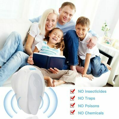 Bug Cockroach Reject Ultrasonic Pest Repellers Mosquito Controller Mouse Killer