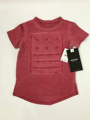 Akademiks brand toddler boys red faded/distressed shirt size 2T--MSRP $30.00