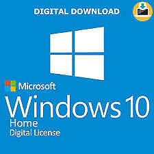 Windows 10 home key 32bit / 64bit GENUINE LICENSE KEY FAST DELIVERY