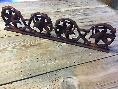 Cast Iron Architectural Decor Salvage flowers