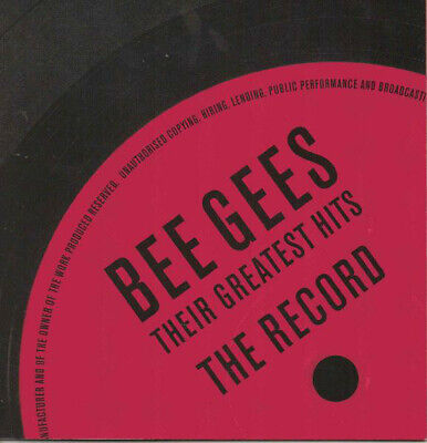 BEE GEES - Their Greatest Hits the Record - Double CD