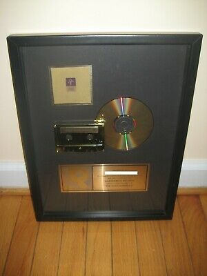 Prince RIAA The Gold Experiece GOLD Record Award Album CD LP