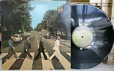 The Beatles - Abbey Road Apple LP SO-383 VG+ ROCK STEREO COME TOGETHER