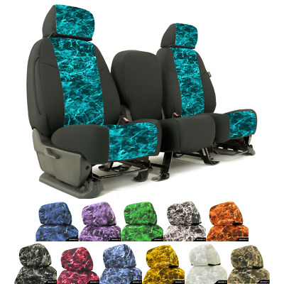 Coverking Mossy Oak Elements Custom Fit Seat Covers For Nissan Leaf