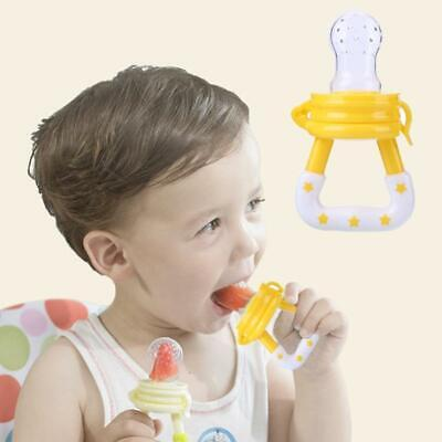 Baby Fresh Food Fruit Feeder Pacifier Silicone Nipple Teething Toy For Toddlers