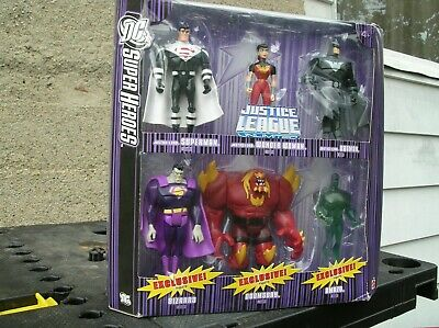 Mattel DC Super Heroes Justice League Unlimited  Justice Lords 6 Pack