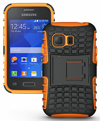 Neon Orange Grenade Skin Hard Case Cover Stand For Samsung Galaxy Young-2 G130