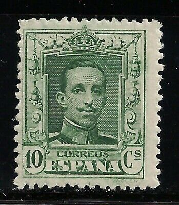 1922 Alfonso XIII Tipo Vaquer 10 cms Verde **