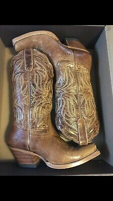 faf93410587 ARIAT WOMEN'S WESTERN Duchess Dirty Tan Short Ankle Cowgirl Boots ...