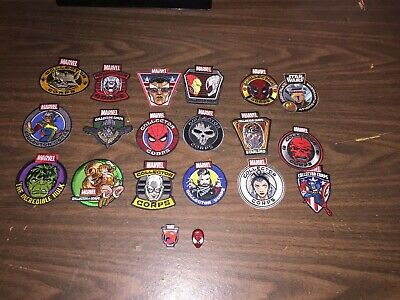 Funko Marvel POP Collector Corps Patches and Pins lot of 18 Star Wars