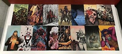 The Walking Dead 15th Anniversary FULL SET of Color Virgin Covers 15 Issue Lot