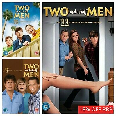 Two and a Half Men Box Set Season 1 2 3 4 5 6 7 8 9 10 Complete DVD Collections