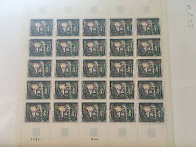 Timbres/stamp France Feuille complète Sheet du N° 1588 x 25 Neuf ** Luxe MNH