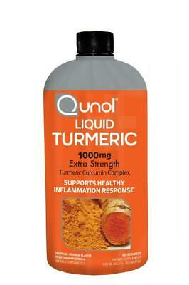 Qunol Liquid Turmeric Curcumin with Bioperine 1000 Milligram, 40 Servings